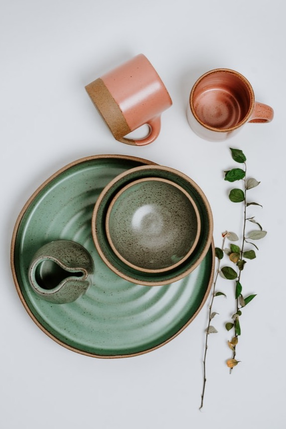 image for Green Ceramic Set