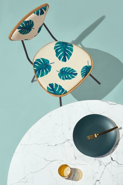 image for Palm Tree Print Chair