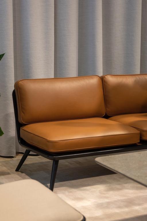 image for Tan Leather Sofa