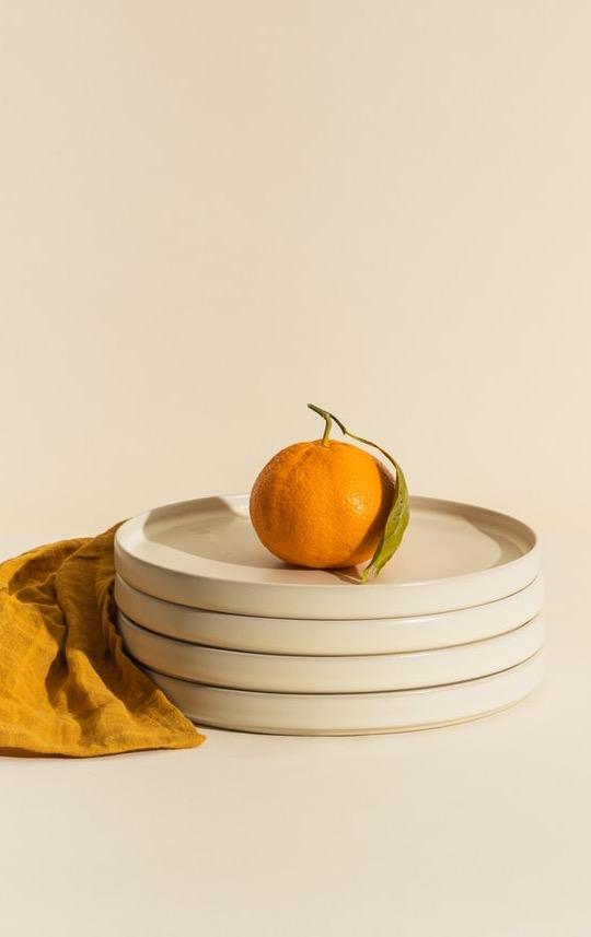 image for White Ceramic Plate