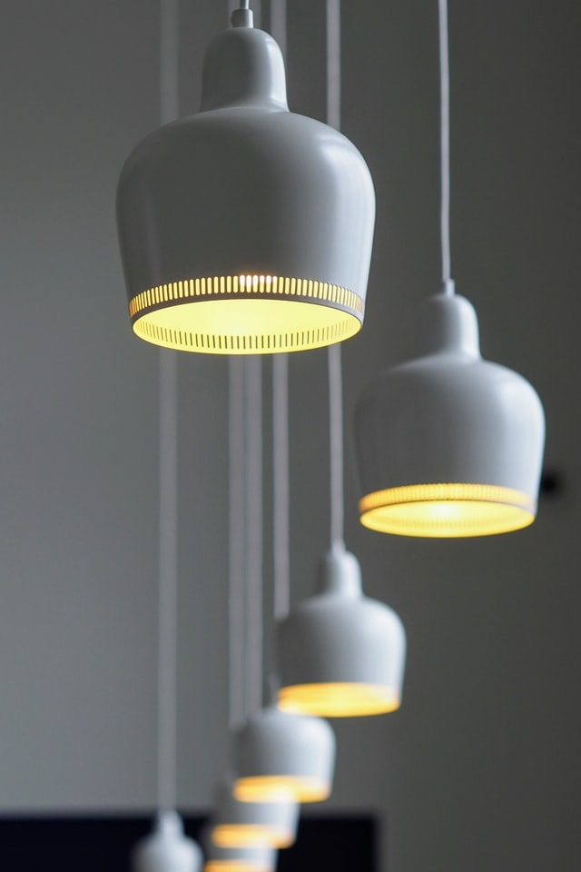 image for White Pendant Light