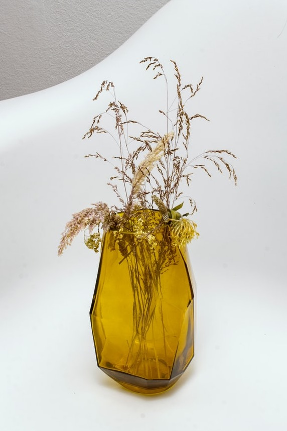 image for Yellow Glass Vase